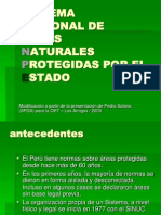 Areas Protegidas Web