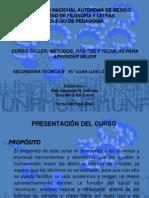 Presentación de Didáctica y Prác. Sec. 65