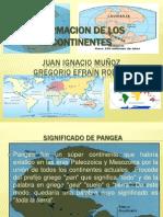 Formacion de Los Continentes Expo