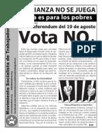 Boletín Bandera Roja:Con la Fianza no se Juega | La Fianza es para los Pobres