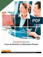 Curso Nutricion Educacion Primaria 110321065636 Phpapp01