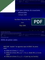 ECDO metodos numericos