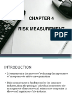 Chapter 4 - Risk Measurement