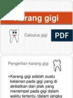 Power Point Karang Gigi