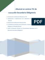Educacion Musical y Tic