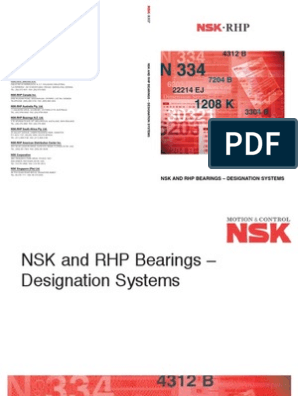 download nsk bearing catalogue
