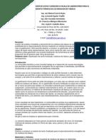 DISEÑO DE UNGASIFICADOR DE LECHO FLUIDIZADO A ESCALA DE LABORATORIO PARA EL TRATAMIENTO TERMICO DE LOS RESIDUOS DE TABACO