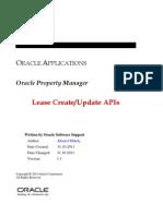 Lease API White Paper