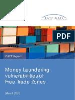 ML Vulnerabilities of Free Trade Zones