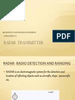 Radar Transmitter