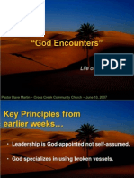 #1W God's Encounters-Life of Moses