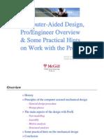 DesignPrinciples and ProE Lecture