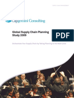 Global Supply Chain Planning Study 2009