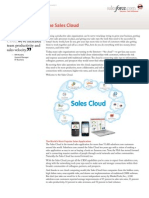 Sales Cloud Datasheet
