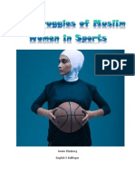 The struggles of muslim women in sports