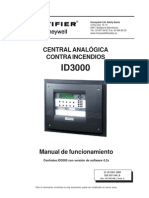 Manual Del Usuario Central Notifier Id3000