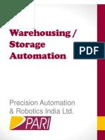 PARI - Storage Automation_ASRS