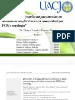 Detección de Mycoplasma pneumoniae en neumonías adquiridas