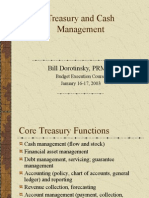 Treasury Cash Management