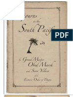 Sorjourns in the South Pacific