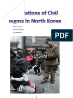 Violations of Civil Rights - Research Essay