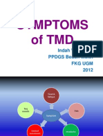 Symptoms Associated With Tmd (Drg. Indah Wulansari)
