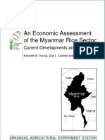 Economic Assessment of Myanmar