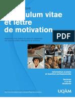 Guide CV Lettre