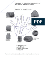 ELEMENTAL CHIROLOGY - PART V OF THE STUDY OF PALMISTRY