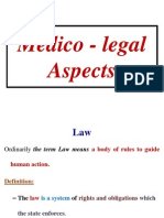 Medico - Legal Aspects
