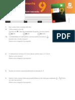 Proposta de Teste Intermédio de Matemática (9º ano) 2012
