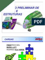 Calculo Preliminar de Cargas e Estruturas