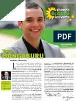 Profession de foi de Yann Mongaburu, candidat EELV à l'élection législative dans la 3ème circonscription de l'Isère