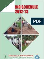 TrainingSchedule DOPR 2010-11