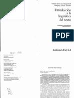 Beaugrande-Dressler, índice