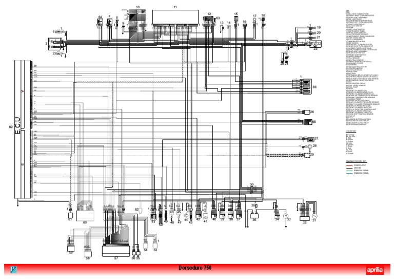 [DIAGRAM_5UK]  DORSODURO 750_wiring Diagram | Throttle | Fuel Injection | Aprilia Dorsoduro 750 Wiring Diagram |  | Scribd