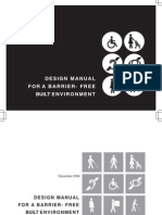 Design Manual for a Barrier Free Built Environment