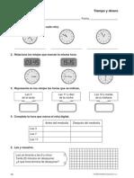 Las Horas Reloj Digital y Analógico