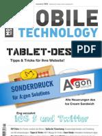 Sonderdruck Mobile Technologie Magazin App Entwicklung Sencha Touch