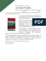 Guide Vignobles et Tourisme, 2ème édition