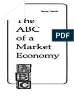 Hazlitt - The ABC of a Market Economy