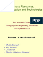 Biomass Resources, Characterisation and Technologies(AG)