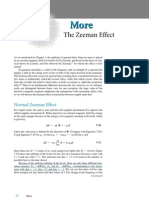Zeeman Effect Note
