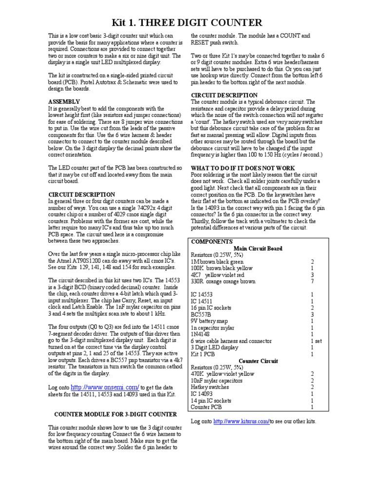 k1 | Electronic Circuits | Printed Circuit Board