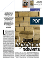 "Le journal Marianne recense ""la soif du gain"" de Michael Walzer"