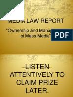 FINALS- Media Law