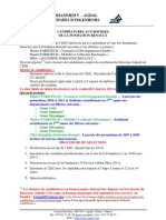 Candidatures Bourses Fondation RENAULT