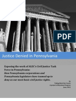 Justice Denied in Pennsylvania