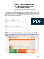 PEJEDEC Procedure Dinscription en Ligne
