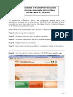 PEJEDEC Procedure Dinscription en Ligne